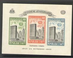 HAITI 1960 ONU  YVERT  N°B15 NEUF MNH** - Haïti