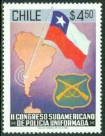 CHILE 1981 SOUTH AMERICA POLICE CONGRESS** (MNH) - Chile