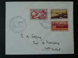 Exploitation Du Nickel Obliteration Sur Lettre Postmark On Cover Nouvelle Calédonie 1971 - Géologie