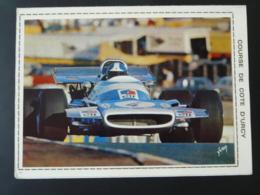 Carte Commemorative Course De Côte D'Urcy 21 Cote D'Or 1971 - Automobilismo