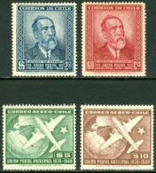 CHILE 1950 UNIVERSAL POSTAL UNION ANNIVERSARY** (MNH) - Chile