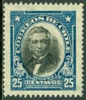 CHILE 1929 25c MONTT** (MNH) - Chile