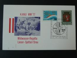 Carte Postcard Rafting Eaux Vives Spittal Autriche Austria 1977 (ex 2) - Rafting