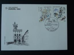 FDC Europa 1982 Napoleon Saint-Marin San Marino - FDC