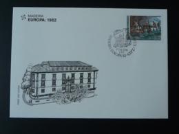 FDC Europa 1982 Madère Madeira - Madère
