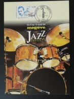 Carte Maximum Card Django Reinhardt Jazz Festival Megeve 74 Haute Savoie 1994 - Musique