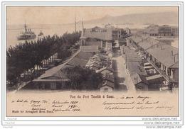SUEZ  (Egypte) Vue Du Port Tewfik - Suez