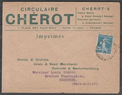 N°140k (roulette) Oblitérés PARIS Sur LSC Du 14/10/1926 ! - Postmark Collection (Covers)