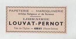 Publicité 1937 Librairie Louvat Pernot Gray - Pubblicitari
