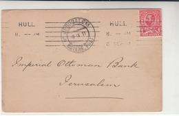 G.B. / Mackennals / Hull / Palestine / Jerusalem / Banks - 1902-1951 (Könige)