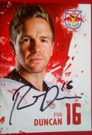 Red Bull  Ryan Duncan - Handtekening
