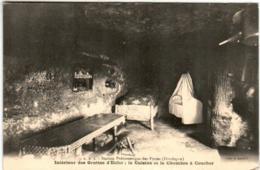 51gn 343 CPA - EYZIES - INTERIEUR DES GOTTES D'ENFER - France