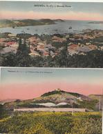 NOUVELLE CALEDONIE - NOUMEA - 2 CPA : Grande Passe - Le Chateau D'eau Et Le Sémaphore - Nouvelle Calédonie