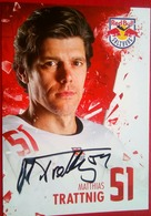 Red Bull Matthias Trattnig - Handtekening