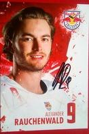 Red Bull Alexander Rauchenwald - Autógrafos