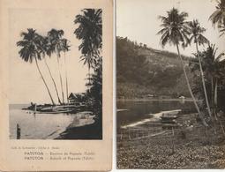 POLYNESIE Française - Lot De 4 CPA + 2 Photos ( Voir Détails ) - Polynésie Française