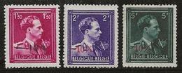 Belgique 1945-1949 N°Y.T. :  724N à 724P ** - Belgique