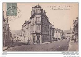 19) Brive.- Avenue De La Gare Et Avenue Firmin Marbeau - Brive La Gaillarde