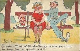 4420 CPA Humoristique - Humour Bidasse - Pelotage De Nichon - Main Baladeuse - Illustrateur Charlésso - Umoristiche