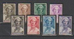 Belgique  1935   N° 411 / 18 Neuf X  ,série Compléte - Belgium