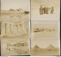 Offre Réservée Mb_75011 Egypte Egypt - 12 Photos Anciennes Albuminée 8X11cm Env -certainemnt Fin XIX ème - Afrika