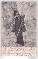 20) Berger Corse  - (éditeur Cardinali , à Noter L'oblitération De Sartène En 1903) - Sartene