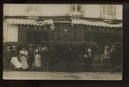 Carte Photo Carbonne Cafe Mesple Le 28 09 1918 Rare - Frankreich