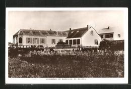 CPA St. Helena, Residence Of Napoleon - Sant'Elena