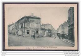 16) Ruffec (Charente) Route Nationale Et Rue De La République - Francia