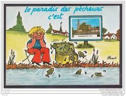47) Fongrave (Lot Et Garonne)  Le Paradis Des Pêcheurs C ´ Est Fongrave  - (illustrateur Prus  - éditeur Arno) - Non Classés