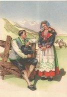 COSTUMI VALTELLINA DELEBIO MANIFESTAZIONE DEL STTEMBRE VALTELLINESE 1954  (7) - Costumi