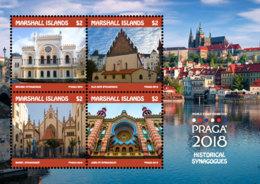 Marshall Islands   2018   Historical Synagogues , Prague  I201901 - Marshall Islands