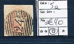 BELGIUM COB 5a USED - 1849-1850 Médaillons (3/5)