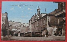 Cpa  54 VILLERUPT Anime Hotel De Ville Et Ecoles J.-Ferry - Autres Communes