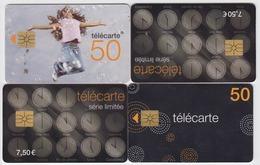 LOT DE 4  X TELECARTE  VOIR LE SCAN - Télécartes