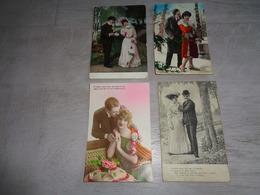 Beau Lot De 60 Cartes Postales De Fantaisie  Couples  Couple    Mooi Lot Van 60 Postkaarten Fantasie Koppels  Koppel - 5 - 99 Cartes