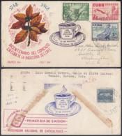 Cuba 1952- Lettres - Thématique Café  (8G34846) DC3933 - Cuba