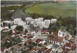 CPSM   Combs La Ville  Vue  Aérienne L'église  Et Le Val De L'Yerres - Combs La Ville