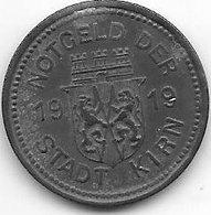 *notgeld Kirn 10 Pfennig  1919 Zn  7138.2/  F245.2 - [ 2] 1871-1918 : Empire Allemand