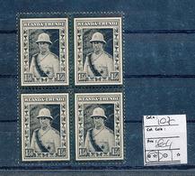 RUANDA URUNDI COB 107 MNH - 1924-44: Nuovi