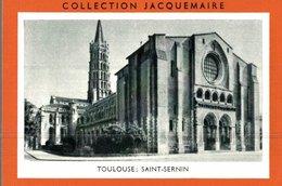 CHROMO COLLECTION JACQUEMAIRE TOULOUSE SAINT-SERNIN - Trade Cards
