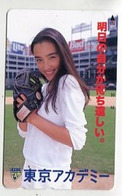 TK 09192 JAPAN -290-44900 Woman & Sport & Beer Advertisment - Deportes