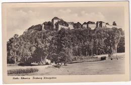 Sachs. Schweiz.  Festung Königstein - (1956) - Koenigstein (Saechs. Schw.)
