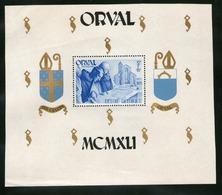 BELGIQUE 1941 ORVAL  YVERT  N°B11  NEUF MNH** - Blocs 1924-1960