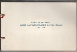 Italie.  Amministrazione Delle Poste E Delle Telecomunicazioni. Année Complète 1979 émise Par La Poste. Cote Y&T 36,16 - 6. 1946-.. Republic