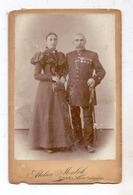 OBER - SCHLESIEN - COSEL / KOZLE, Hartphoto Atelier Malek, Militär 1870/71 - Schlesien