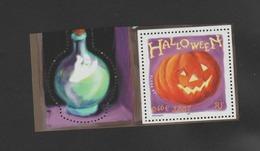 FRANCE / 2001 / Y&T N° 3428 ** : Halloween (du Bloc) Avec Bords - Gomme D'origine Intacte - Francia