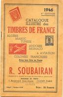 - CATALOGUE Des Timbres De France R. SOUBAIRAN De 1946 (40 Pages) -94072- - France