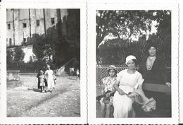 Lot De 2 Photos Anciennes - 84 - Chateau Des Papes à Avignon En 1933 - Lieux