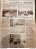 1929 TOUR DE FRANCE MOTOS ET AUTOS - COLMAR CÔTE DE TURCKHEIM - LYON - NICE - Journaux - Quotidiens